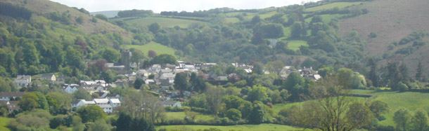 View of Chagford